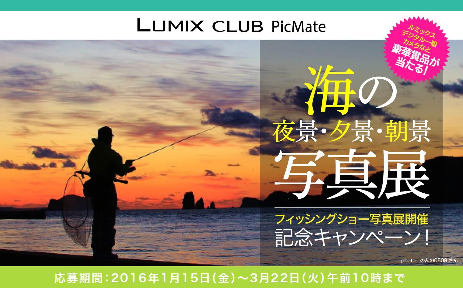 Picmate「海の夜景・夕景・朝景 写真展」